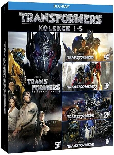 Transformers 1-5 (5BD) - Blu-ray - Film na Blu-ray