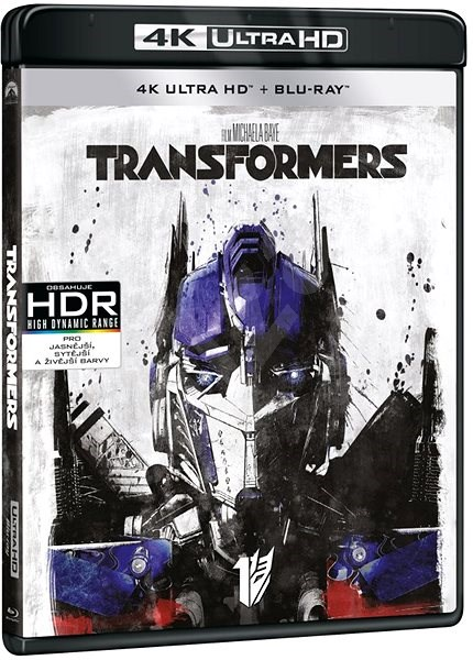 Transformers (2 disky) - Blu-ray + 4K Ultra HD - Film na Blu-ray