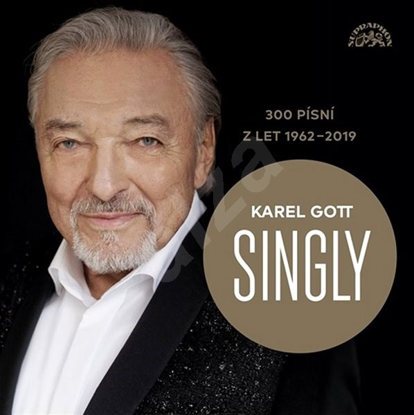 Gott Karel: Singly - 300 písní z let 1962-2019 (15xCD) - CD - Hudební CD