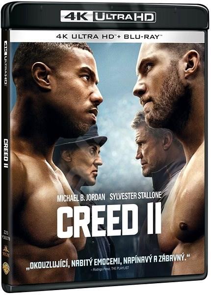 Creed II (2 disky) - Blu-ray + 4K Ultra HD - Film na Blu-ray