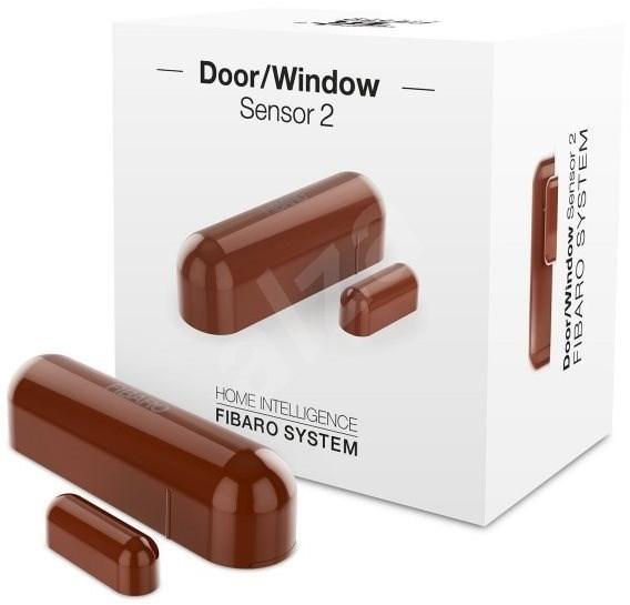 FIBARO Senzor na okna a dveře 2 lanýžový - Senzor na dveře a okna