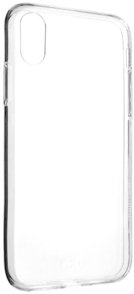 FIXED pro iPhone X/XS čirý - Kryt na mobil