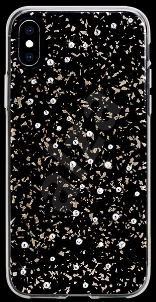 Bling My Thing Milky Way Pure Brilliance pro Apple iPhone X/XS transparentní - Kryt na mobil