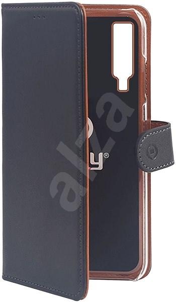 CELLY Wally pro Samsung Galaxy A7 (2018) černé - Pouzdro na mobilní telefon