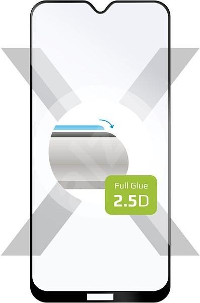 FIXED FullGlue-Cover pro Nokia 6.2/7.2 lepení přes celý displej černé - Ochranné sklo