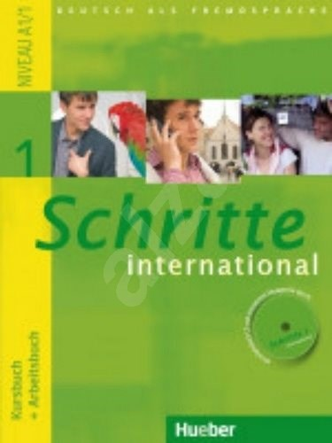 Schritte international 1: Paket - KB + AB mit Audio-CD + Gloss. -
