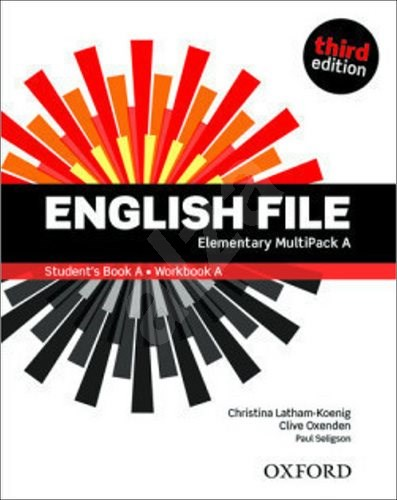 English File Third Edition Elementary Multipack A - Clive Oxended