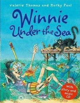 Winnie Under the Sea. Book + CD - Valerie Thomas