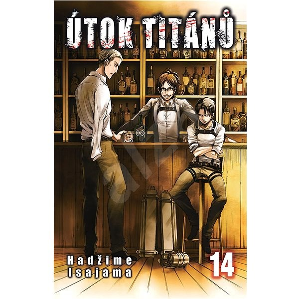 Útok titánů 14 - Hadžime Isajama