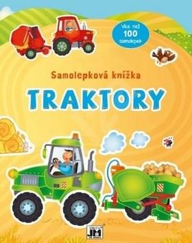 Samolepková knížka Traktory -