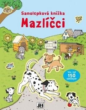 Samolepková knížka Mazlíčci -
