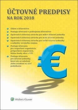 Účtovné predpisy na rok 2018 -