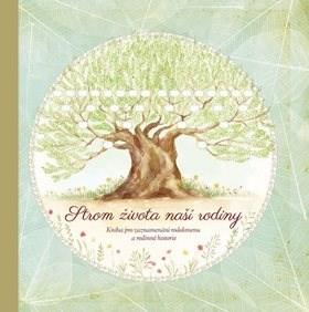 Strom života naší rodiny: Kniha pro zaznamenávání rodokmenu a rodinné historie - Monika Kopřivová