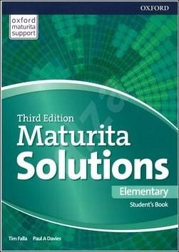 Maturita Solutions 3rd Edition Elementary Student's Book: Czech Edition -