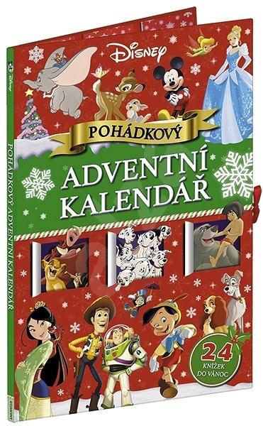Disney Pohádkový adventní kalendář: 24 knížek do Vánoc -