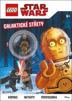 LEGO Star Wars Galaktické střety: Komiks, aktivity, minifigurka -