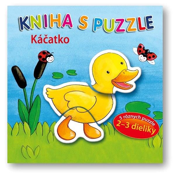 Kniha s puzzle Káčatko -