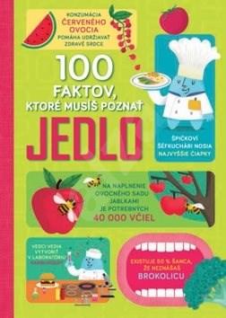 100 faktov, ktoré musíš poznat Jedlo - Alice James; Jerome Martin