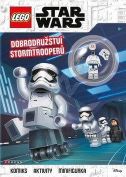 LEGO Star Wars Dobrodružství Stormtrooperů: Komiks, aktivity, figurka -