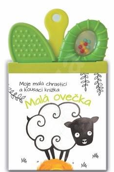 Moje malá chrasticí a kousací knížka Ovečka -