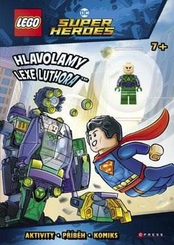 LEGO DC Comics Super Heroes Hlavolamy Lexe Luthora: Aktivity, příběh, komoks + minifigurka -