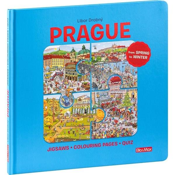 Prague: Puzzles - Colouring - Quizzes - Libor Drobný