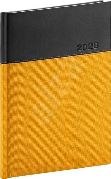 Denní diář Dado 2020 žlutočerný -