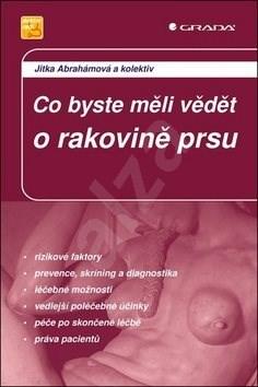 Co byste měli vědět o rakovině prsu: 2., aktualizované a doplněné vydání - Jitka Abrahámová