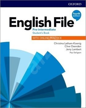 English File Fourth Edition Pre-Intermediate Student's Book with Online Practice -