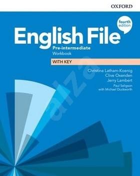 English File Fourth Edition Pre-Intermediate Workbook with Answer Key -