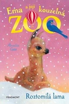 Ema a její kouzelná zoo Roztomilá lama - Amelia Cobb