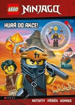 LEGO NINJAGO Hurá do akce!: Obsahuje minifigurku -