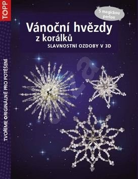 TOPP Vánoční hvězdy z korálků: S magickou perlou -
