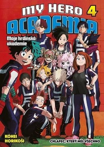 My Hero Academia 4 Moje hrdinská akademie - Kōhei Horikoshi