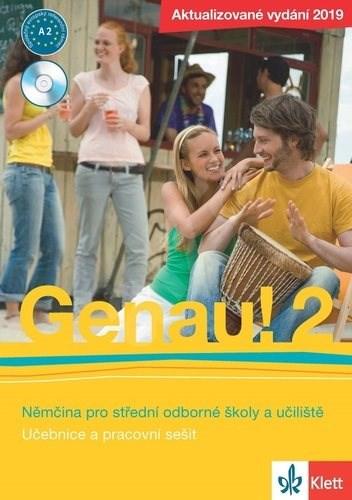 Genau! 2 Němčina pro střední odborné školy a učiliště: Učebnice, pracovní sešit, CD - Carla Tkadlečková