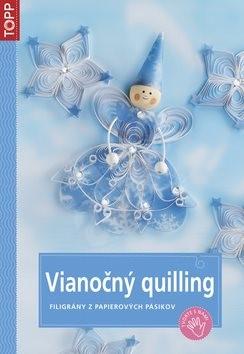 Vianočný quilling: SK3780 - filigrány z papierových pásikov -