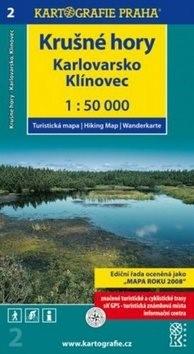 Krušné hory Karlovarsko: 1:50 000 -