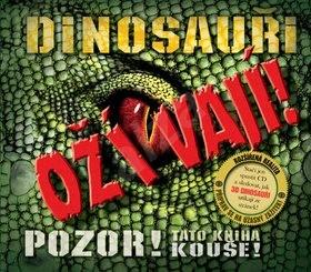 Dinosauři ožívají! 3D: POZOR! Tato kniha kouše - Robert Mash