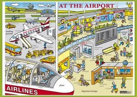 Karta At the Airport -