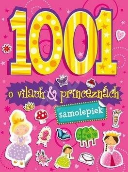 1001 samolepiek o vílach a princeznách -