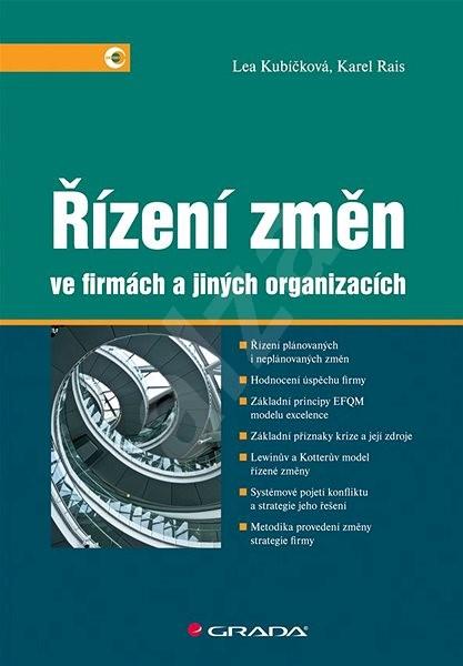Řízení změn ve firmách a jiných organizacích - Lea Kubíčková