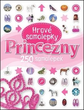 Princezny Hravé samolepky: 250 samolepek -