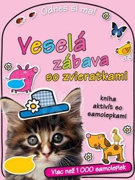 Veselá zábava so zvieratkami Odnes si ma!: kniha aktivít so samolepkami -