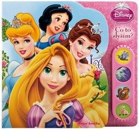 Balíček 2ks Princezny Zvuková knížka + hračka -