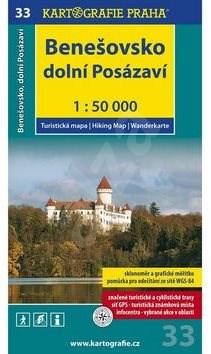 Benešovsko Dolní Posázaví 1:50 000 -