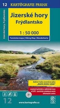 Jizerské hory, Frýdlantsko 1:50 000: turistická mapa -