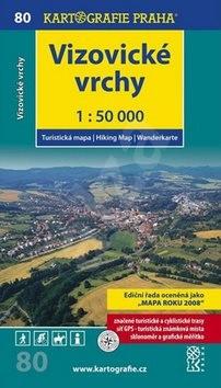 Vizovické vrchy 1:50 000: turistická mapa -