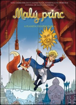 Malý princ a planeta Velkého šaška - Antoine de Saint-Exupery