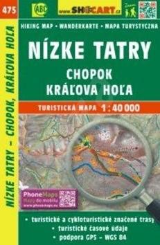 Nízke Tatry, Chopok, Kráľova Hoľa 1:40 000: 475 -