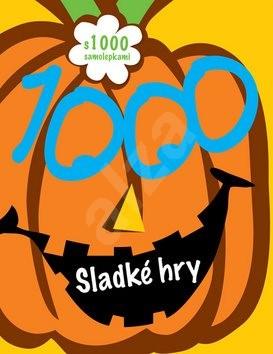 Sladké hry s 1000 samolepkami -